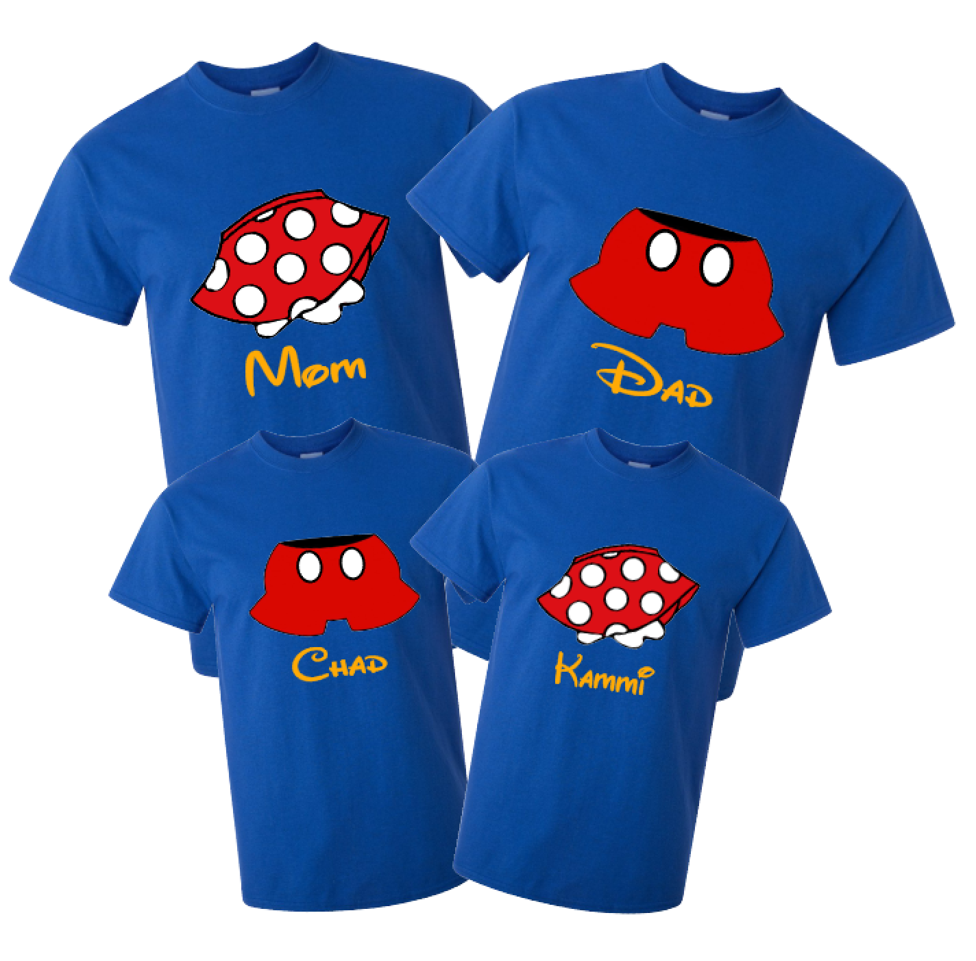 cb4b4623 Disney Family Skirts & Pants Mickey and Minnie Vacation T-Shirts | The  Official Site of Logan To Layla