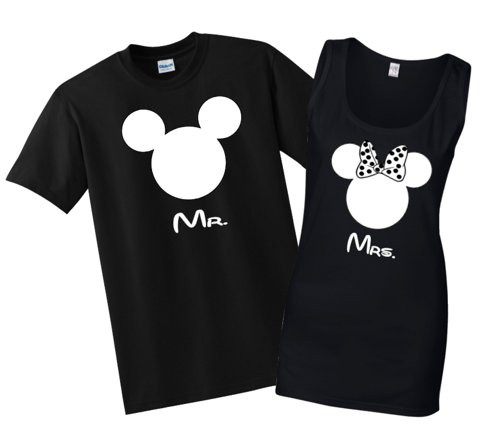 Black t shirt custom - Disney Family Mr Mrs Custom T Shirts Black The Official Site Of Logan To Layla