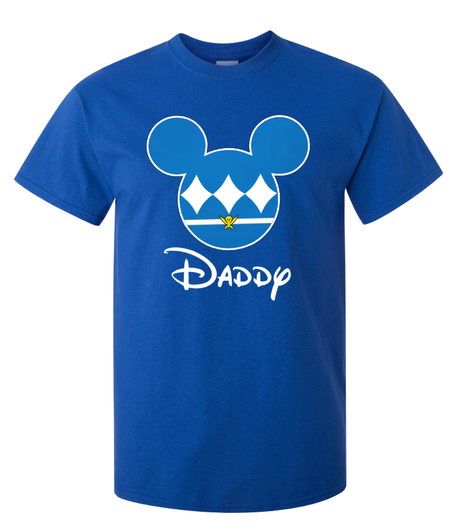Disney mickey power ranger family t shirts super hero for Custom t shirts family vacation